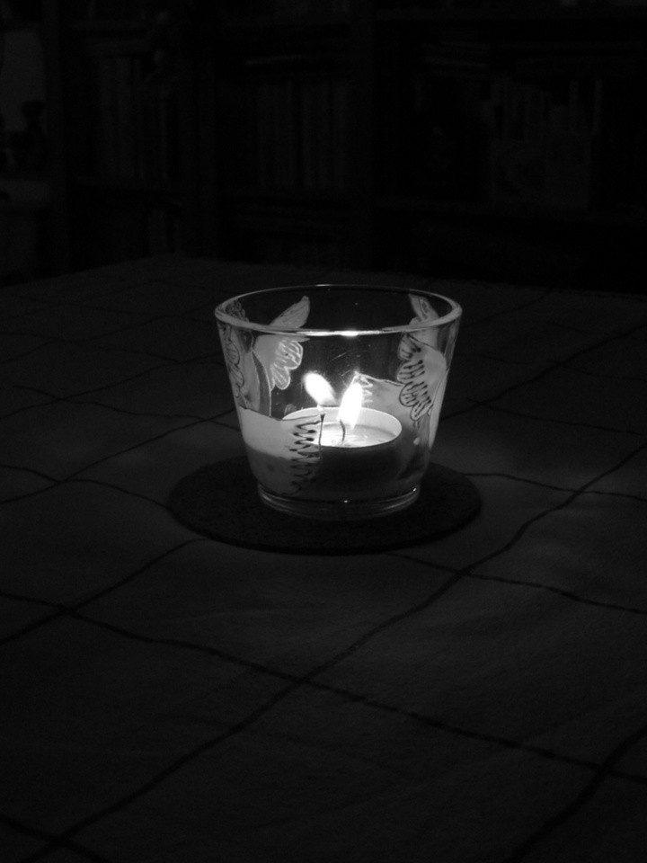 Słoiczkowe świeczniki